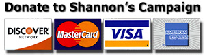 Donate Online to Shannon's Campaign for Kansas House District 125 Representative